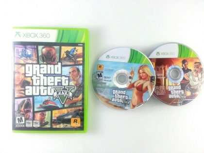 Grand Theft Auto V game for Microsoft Xbox 360 -Game & Case