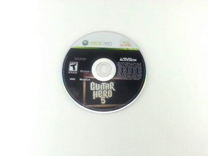 Guitar Hero 5 game for Microsoft Xbox 360 - Loose