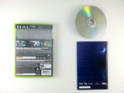 Halo: Combat Evolved Anniversary game for Xbox 360 (Complete)   The Game Guy