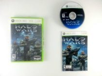 Halo Wars game for Microsoft Xbox 360 -Complete