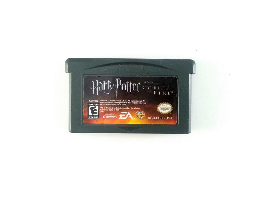 Harry Potter Goblet of Fire game for Nintendo Gameboy Advance - Loose