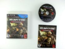 Heavy Fire: Afghanistan game for Sony Playstation 3 PS3 -Complete