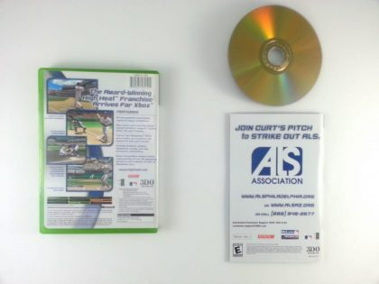 High Heat Baseball 2004 game for Xbox (Complete) | The Game Guy