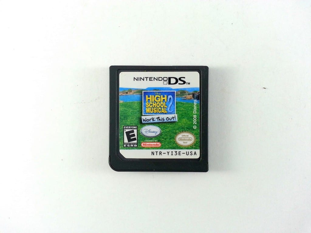 High School Musical 2 Work This Out game for Nintendo DS - Loose