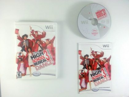High School Musical 3 Senior Year Dance game for Nintendo Wii -Complete