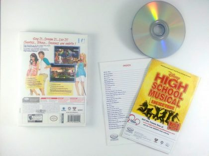 High School Musical Sing It game for Wii (Complete)   The Game Guy