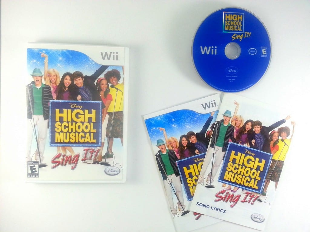 High School Musical Sing It game for Nintendo Wii -Complete