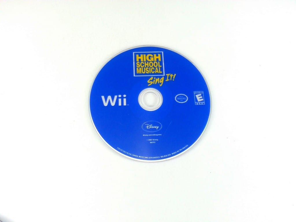 High School Musical Sing It game for Nintendo Wii - Loose