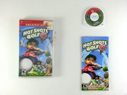 Hot Shots Golf Open Tee game for Sony PSP -Complete
