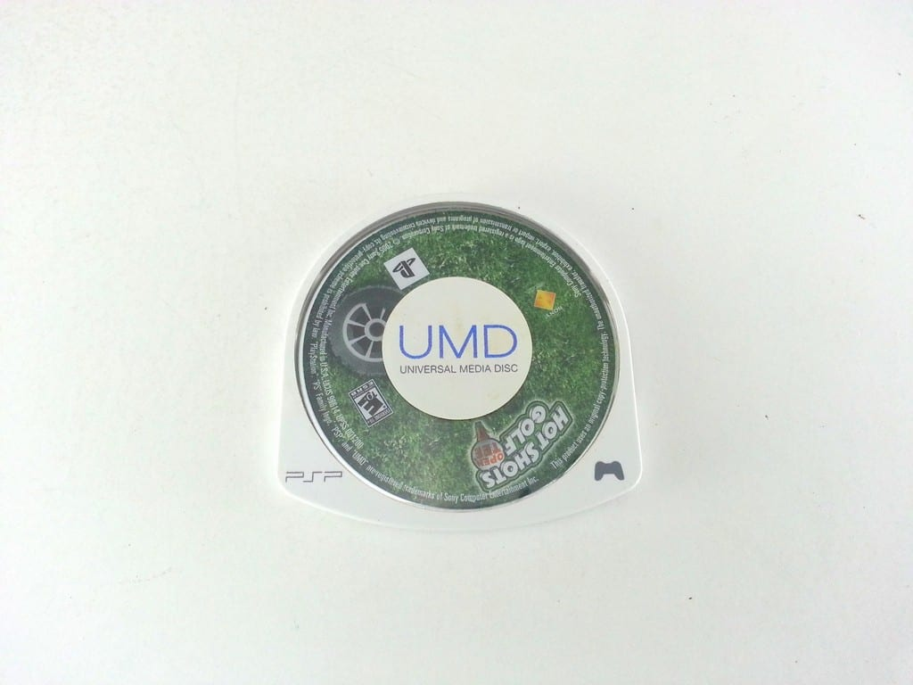 Hot Shots Golf Open Tee game for Sony PSP - Loose