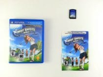 Hot Shots Golf World Invitational game for Sony PlayStation Vita -Complete