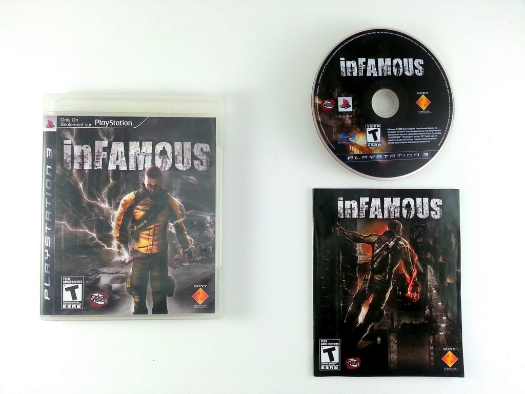 Infamous game for Playstation 3 (Complete) | The Game Guy