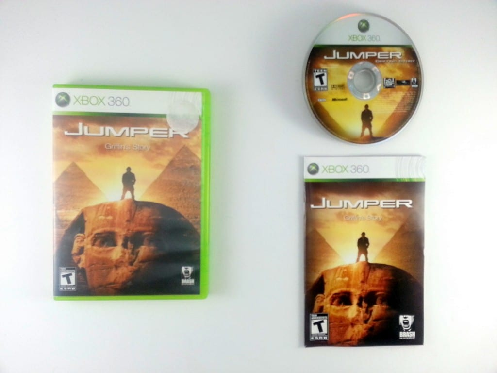 Jumper game for Microsoft Xbox 360 -Complete