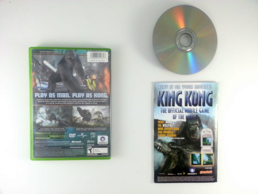 King Kong the Movie game for Xbox (Complete) | The Game Guy