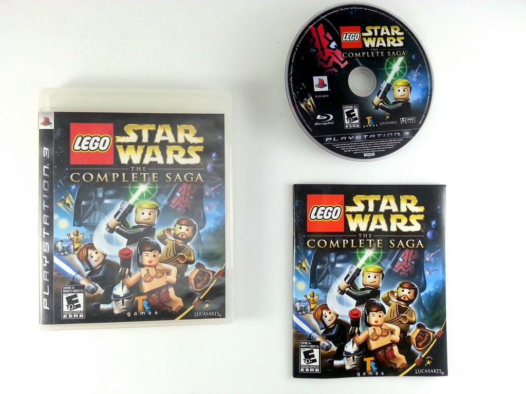 Lego Star Wars Complete Saga Game For Playstation 3 Complete The
