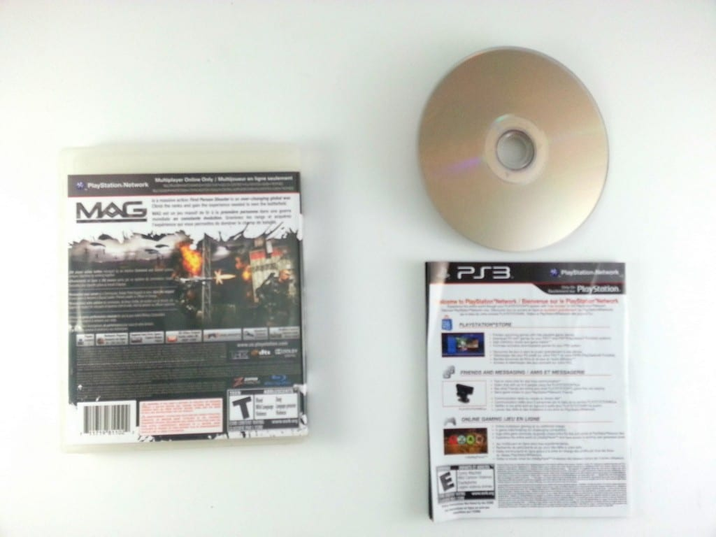 MAG game for Playstation 3 (Complete)   The Game Guy