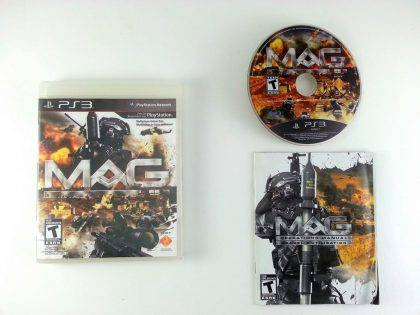 MAG game for Sony Playstation 3 PS3 -Complete