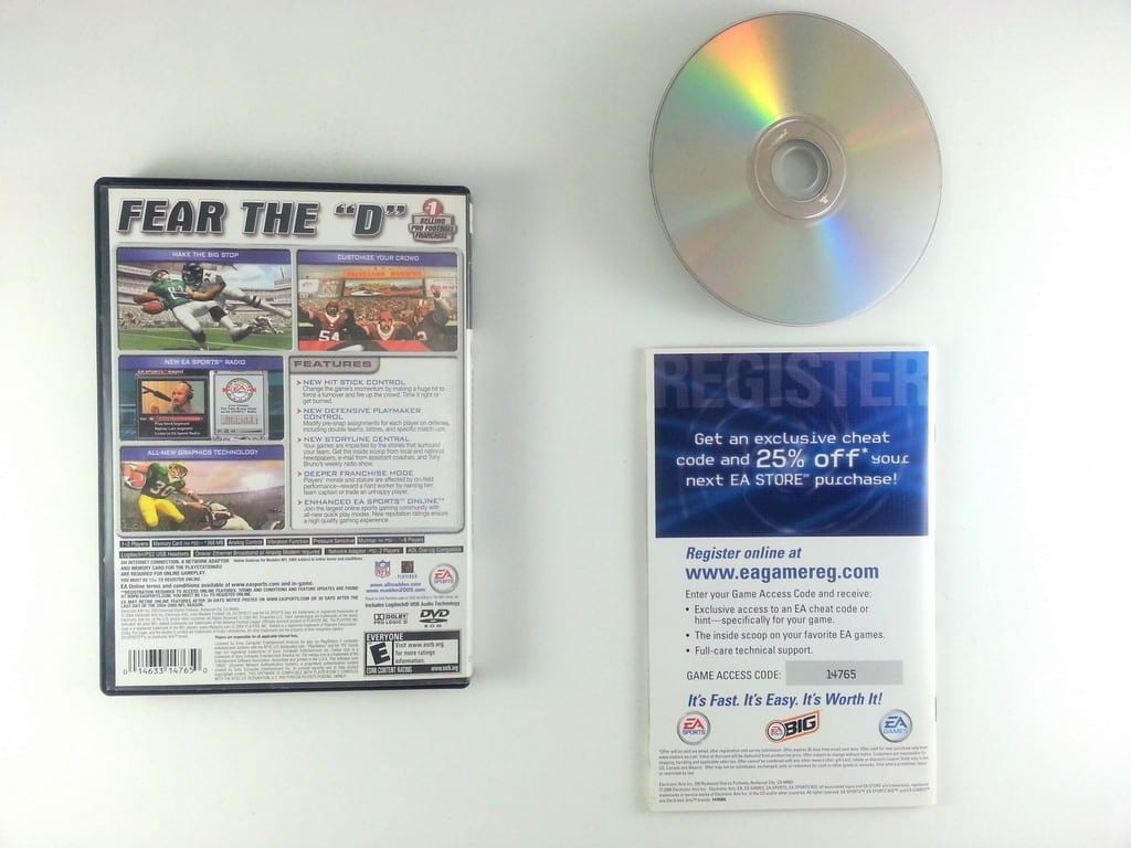 Gameplay color access code - Madden 2005 Game For Playstation 2 Complete The Game Guy