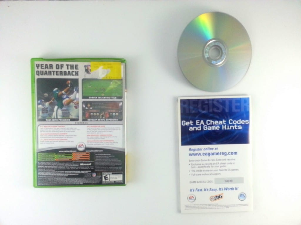 Madden 2006 game for Xbox (Complete)   The Game Guy