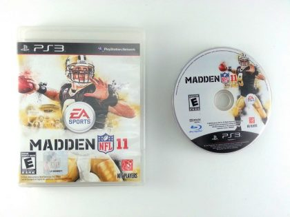 Madden NFL 11 game for Sony Playstation 3 PS3 -Game & Case