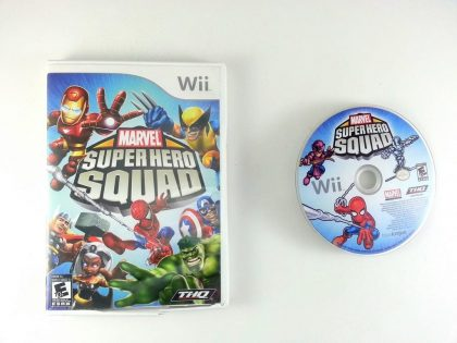 Marvel Super Hero Squad game for Nintendo Wii -Game & Case