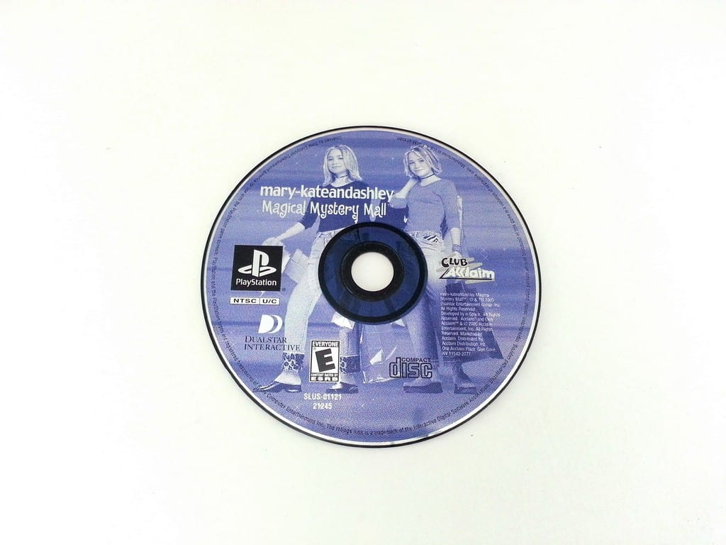 Mary-Kate and Ashley Magical Mystery Mall game for Playstation PS1 PSX - Loose