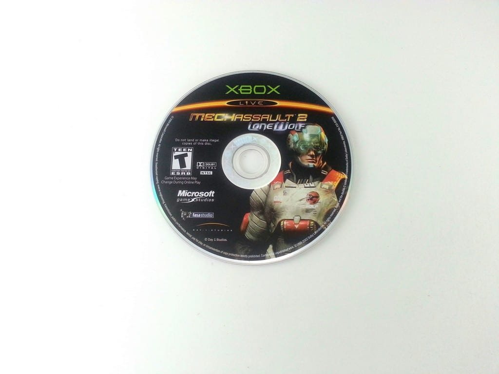 MechAssault 2 Lone Wolf game for Microsoft Xbox - Loose