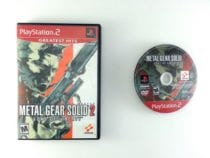 Metal Gear Solid 2 game for Sony Playstation 2 PS2 -Game & Case