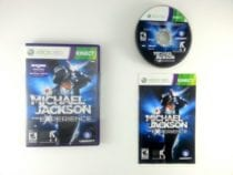 Michael Jackson: The Experience game for Microsoft Xbox 360 -Complete
