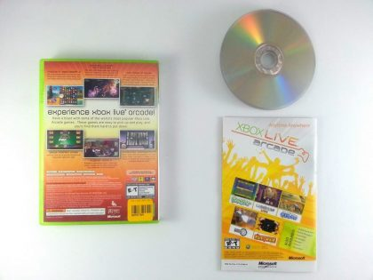 Xbox Live Arcade Unplugged Volume 1 game for Xbox 360 (Complete) | The Game Guy