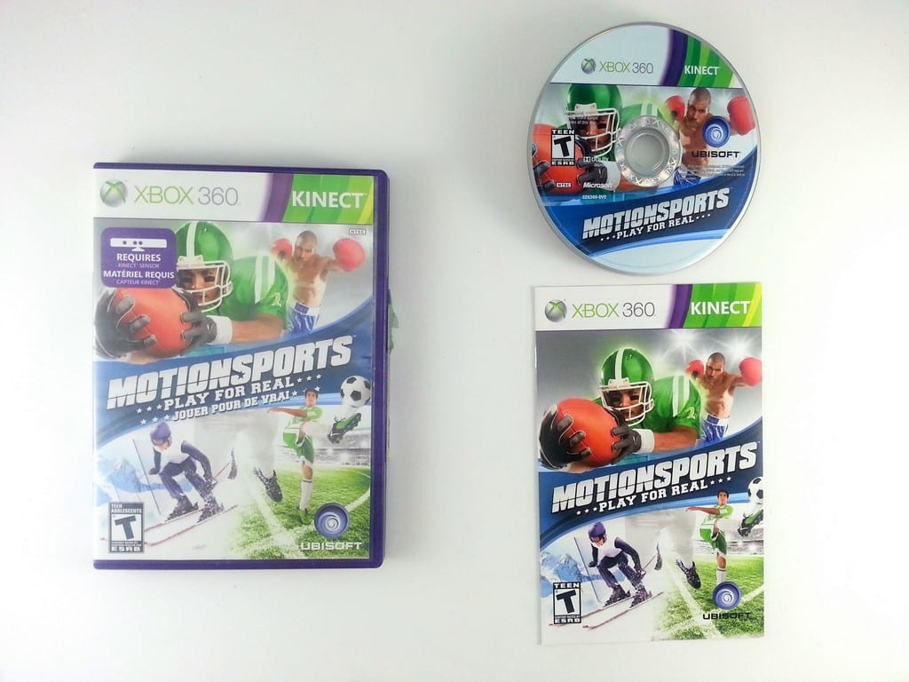 MotionSports game for Microsoft Xbox 360 -Complete