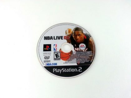 NBA Live 2006 game for Sony Playstation 2 PS2 - Loose