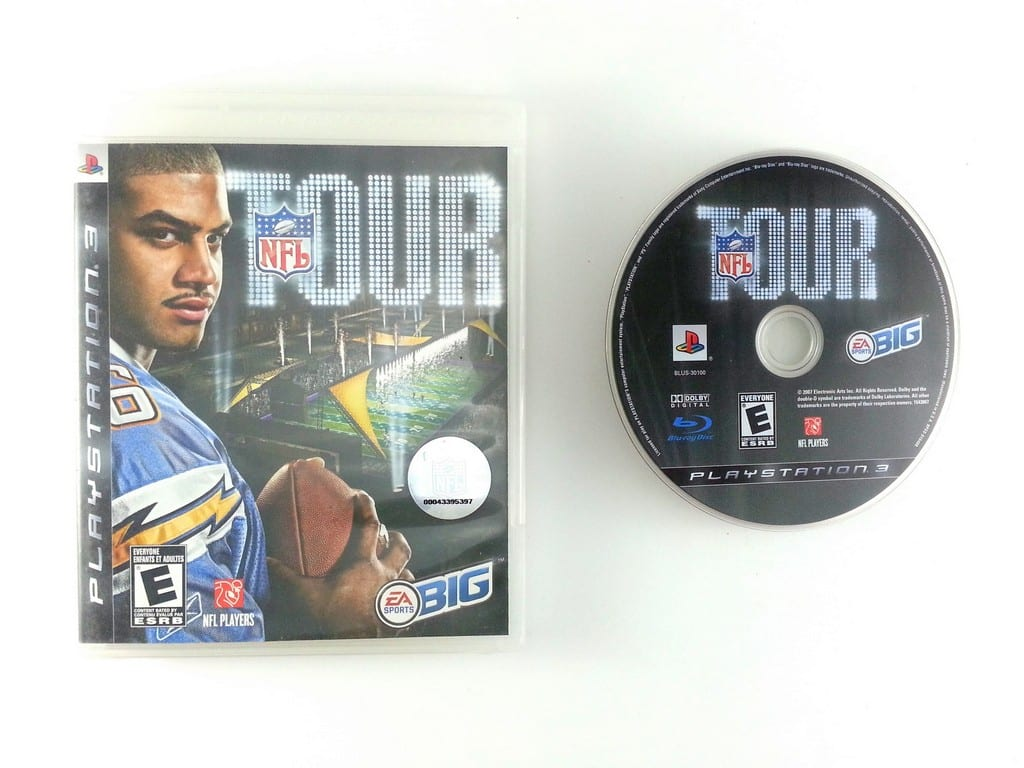 NFL Tour game for Sony Playstation 3 PS3 -Game & Case