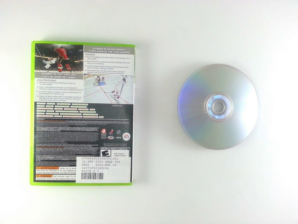 NHL 09 game for Xbox 360 | The Game Guy