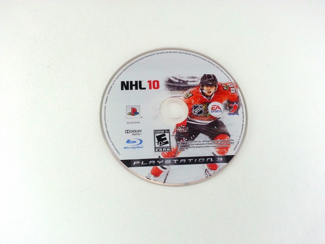 NHL 10 game for Sony Playstation 3 PS3 - Loose
