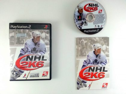 NHL 2K6 game for Sony Playstation 2 PS2 -Complete