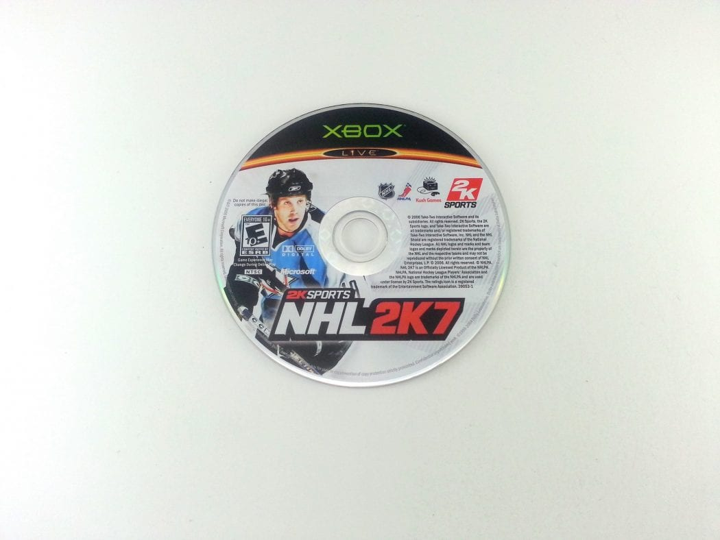NHL 2K7 game for Microsoft Xbox - Loose