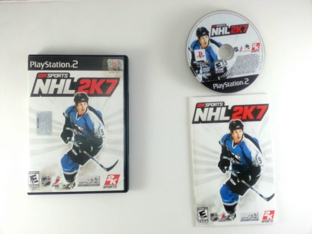 NHL 2K7 game for Sony Playstation 2 PS2 -Complete