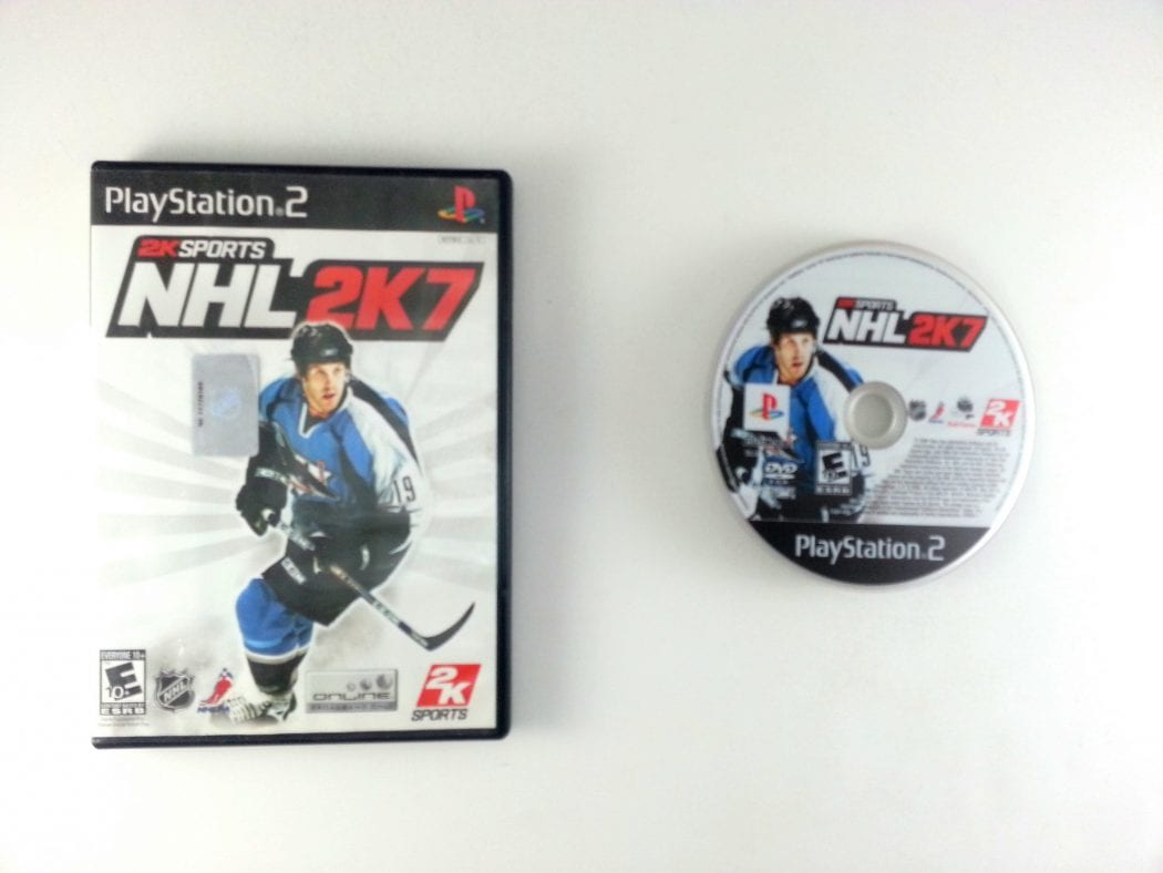 NHL 2K7 game for Sony Playstation 2 PS2 -Game & Case