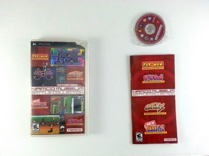 Namco Museum Battle Collection game for Sony PSP -Complete