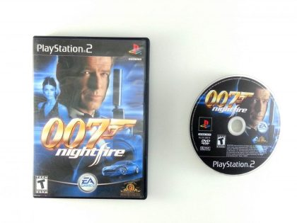 Nightfire game for Sony Playstation 2 PS2 -Game & Case