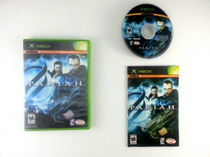 Pariah game for Microsoft Xbox -Complete