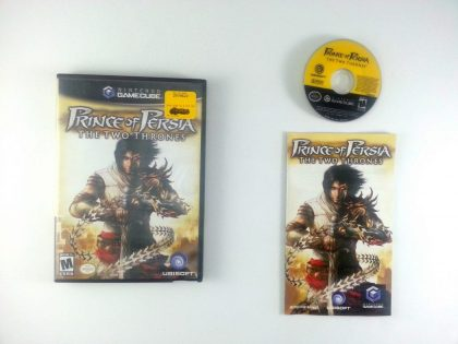 Prince of Persia Two Thrones game for Nintendo Gamecube -Complete