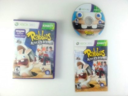 Rabbids: Alive & Kicking game for Microsoft Xbox 360 -Complete