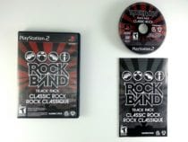 Rock Band Track Pack: Classic Rock game for Sony Playstation 2 PS2 -Complete