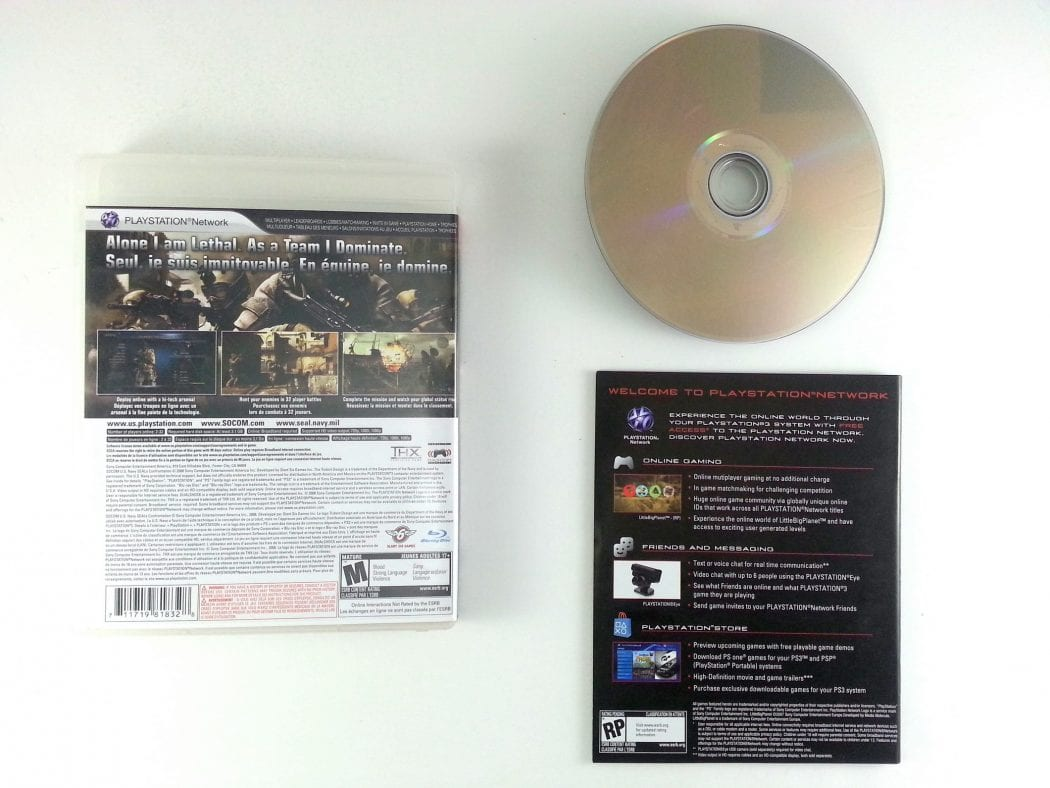 SOCOM Confrontation game for Playstation 3 (Complete)   The Game Guy