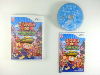 Samba De Amigo game for Nintendo Wii -Complete
