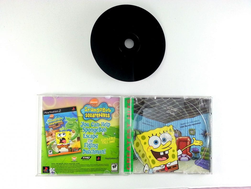 SpongeBob SquarePants Super Sponge game for Playstation (Complete) | The Game Guy