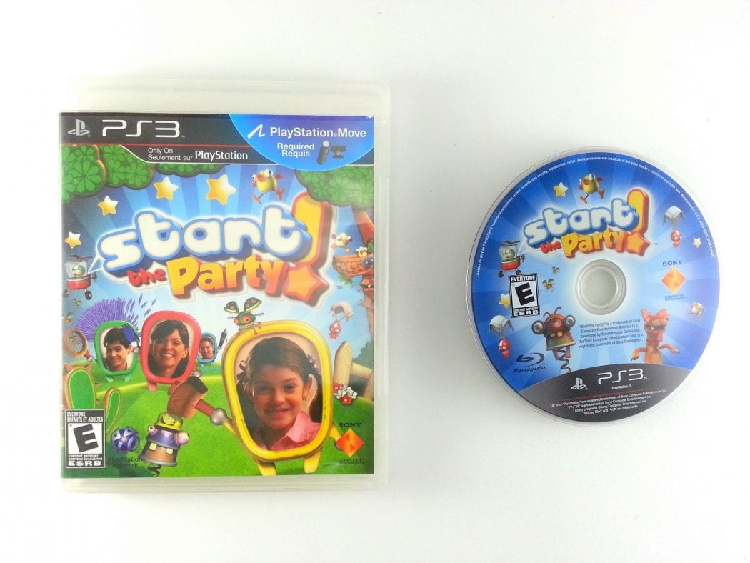 Start the Party game for Sony Playstation 3 PS3 -Game & Case
