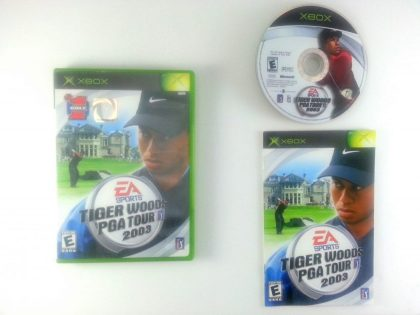 Tiger Woods 2003 game for Microsoft Xbox -Complete